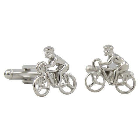 Novelty Boys on Bikes Cufflinks