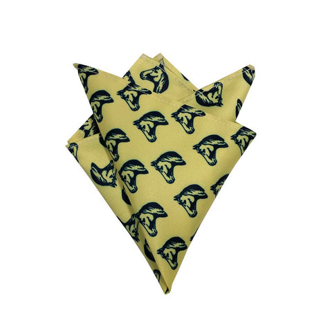 Lemon Yellow Pocket Square