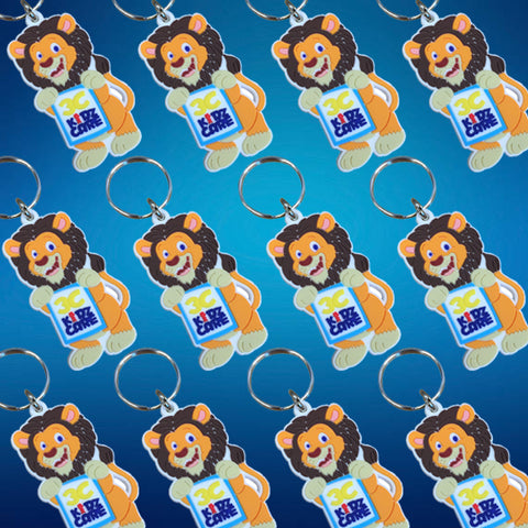 Custom Made Bulk PVC Keyrings
