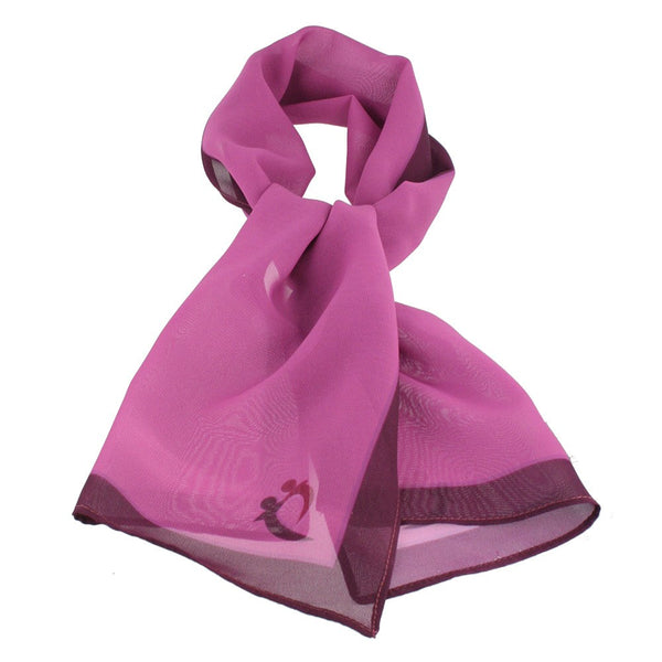 Rectangle Printed Polyester Chiffon Scarf - Digital Express