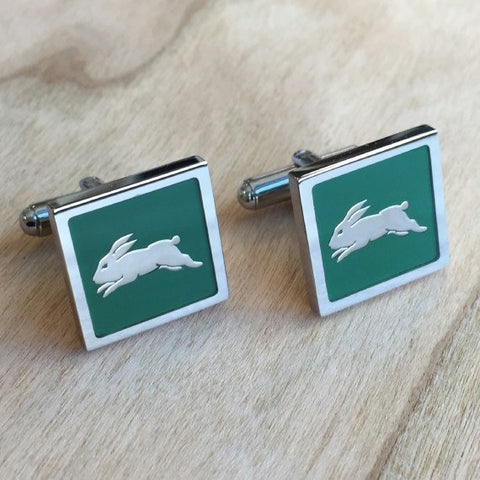 NRL South Sydney Rabbitohs Cufflinks
