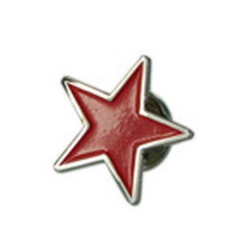 Red Star Lapel Pin