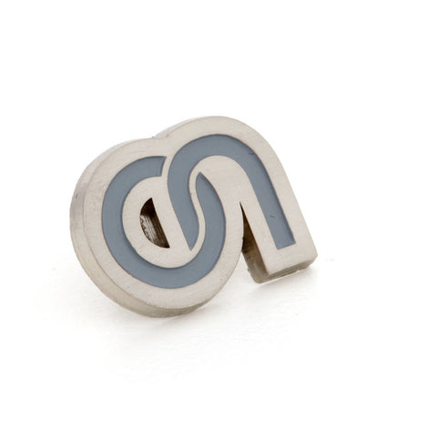 Custom Made Brushed Lapel Pins Cut to Shape