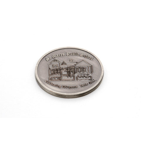 Custom Made Double Sided Coins - Antique Plating