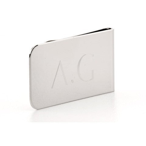 Personalised Money Clip Silver