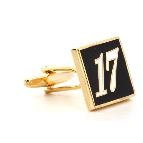 Custom Made Number Cufflinks