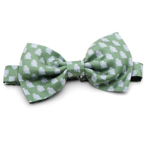 Star Wars Yoda Green and Grey Bow Tie