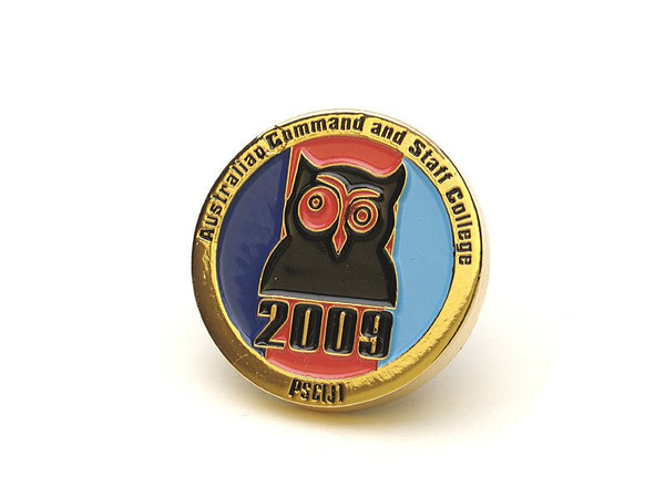 Custom Made Double Sided Coins - Enamel Gold