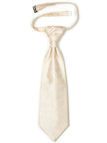 Endless Love Ivory Patterned Cravat