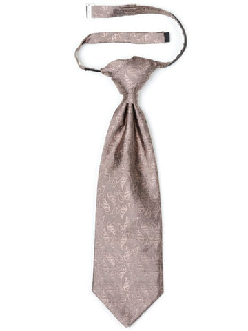 Romantic Dusty Pink Patterned Cravat