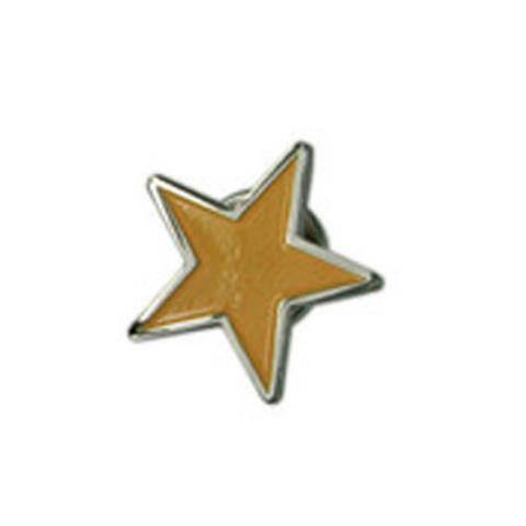 Yellow Star Lapel Pin