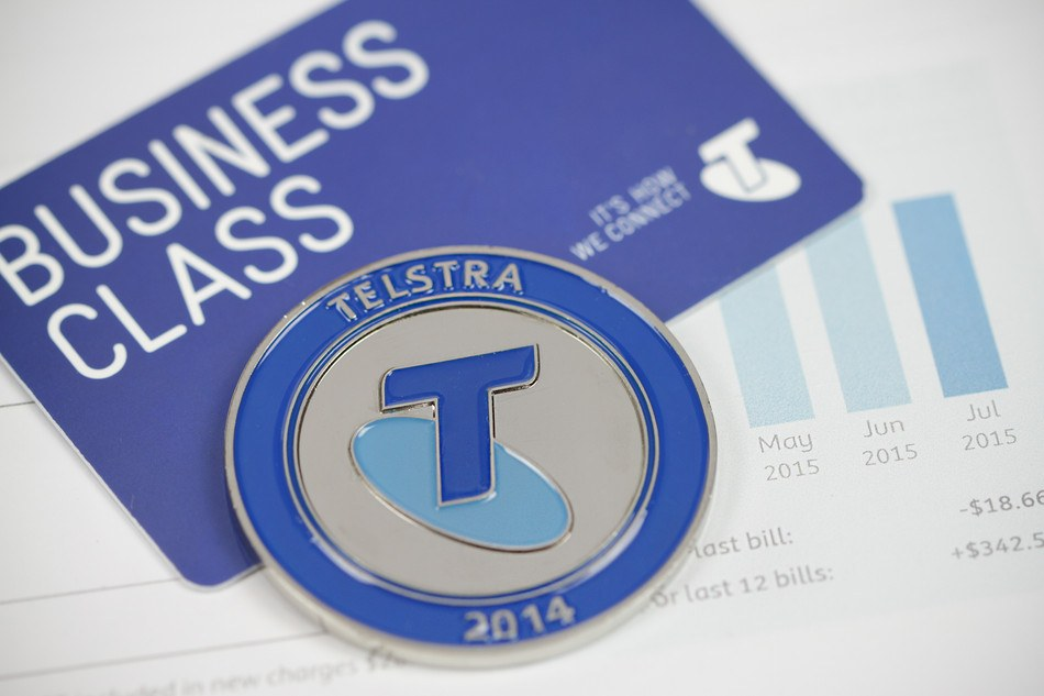 Telstra Recognition Coins