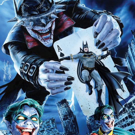 THE BATMAN WHO LAUGHS #1 THE COMIC MINT STORE EXCLUSIVE