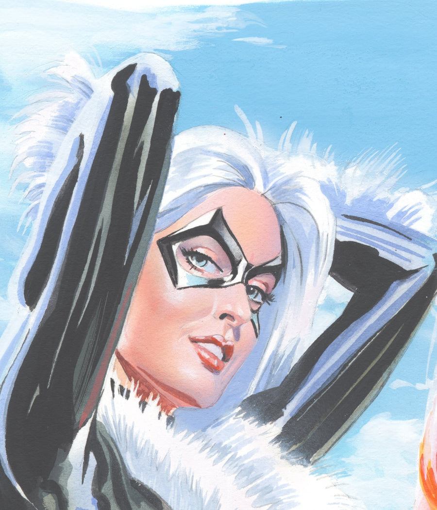 Mike Mayhew Original AMAZING SPIDER-MAN #6 Variant Cover Painting