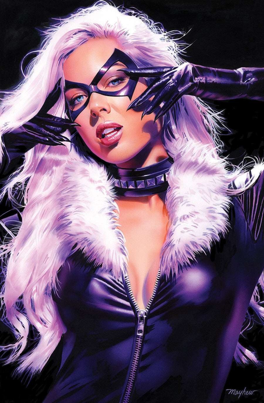 BLACK CAT #1 MIKE MAYHEW STUDIO EXCLUSIVE OPTIONS