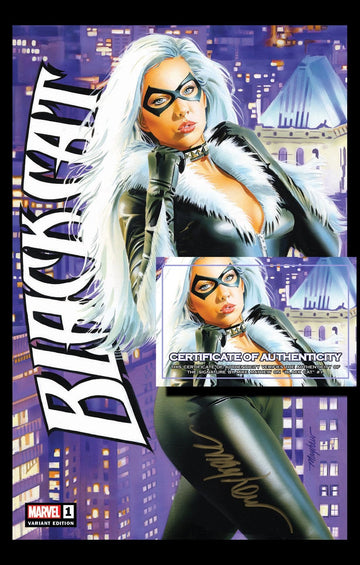 BLACK CAT #1 MIKE MAYHEW STUDIO