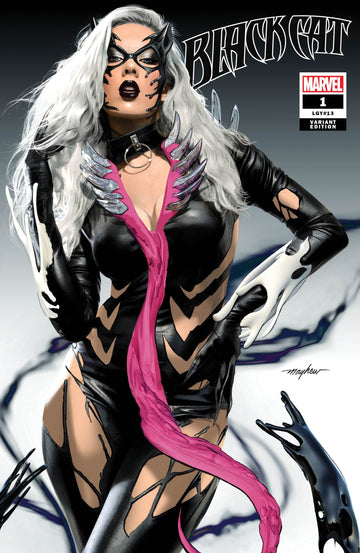 BLACK CAT #1 KIB Mike Mayhew Studio Variant Cover Trade Dress Raw