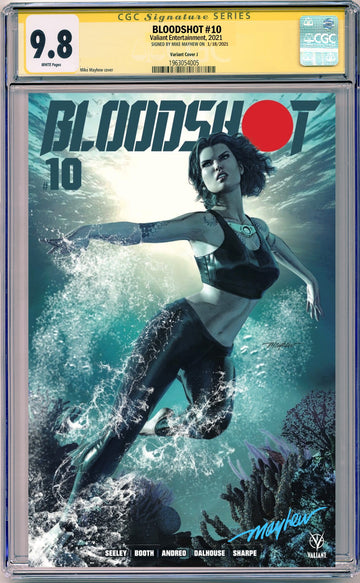 BLOODSHOT #10 MIKE MAYHEW STUDIO EXCLUSIVE VARIANTS CGC SIG SERIES 9.6 AND ABOVE OPTIONS
