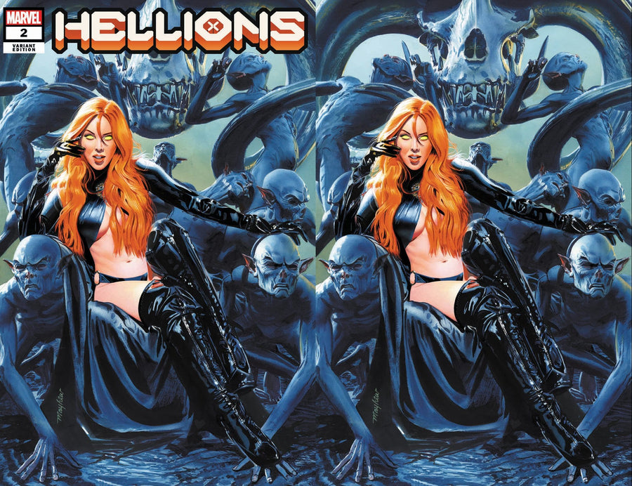 HELLIONS #2 Mike Mayhew Studio Variant Cover Exclusive Options