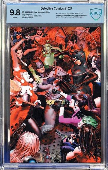DETECTIVE COMICS #1027 MIKE MAYHEW STUDIO COVER B VIRGIN ULTIMATE CBCS 9.8 edition