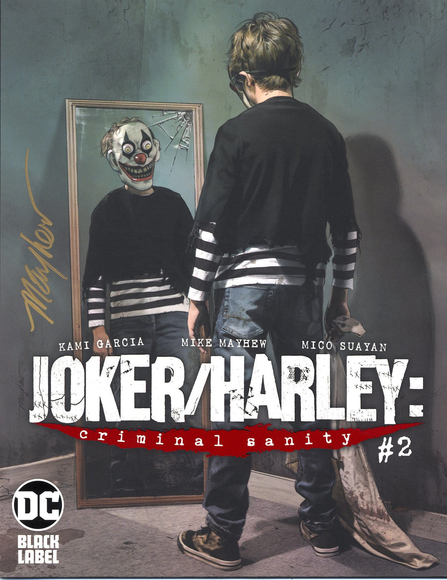 JOKER/HARLEY: CRIMINAL SANITY #2 Mike Mayhew Variant Cover Signed