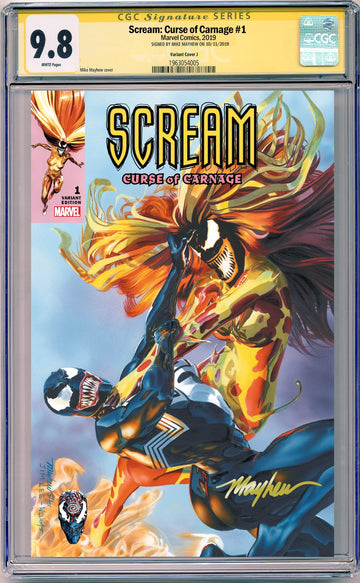 SCREAM: CURSE OF CARNAGE #1 CGC 9.8