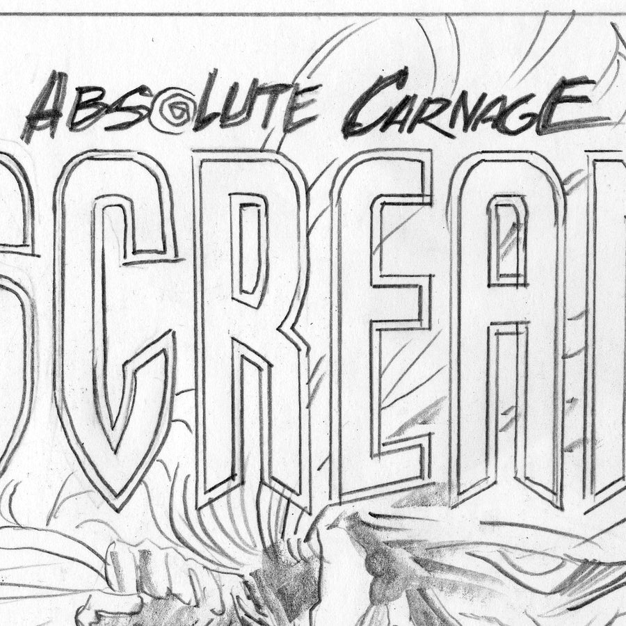 SCREAM: CURSE OF CARNAGE #1 Variant Cover Sketch