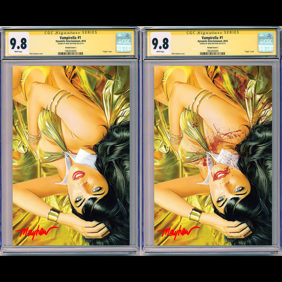 VAMPIRELLA #1 MIKE MAYHEW STUDIO EXCLUSIVE VARIANTS CGC SIG SERIES 9.8 OPTIONS