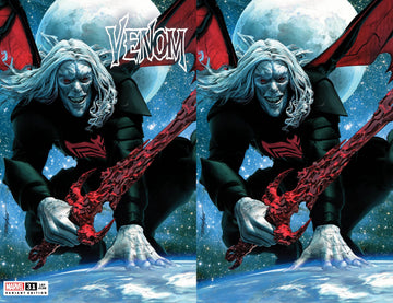 VENOM #31 Mike Mayhew Studio Variant Trade Dress & Virgin Cover Raw Set and AMAZING SPIDER-MAN #850 Trade Dress and Virgin Cover Raw Set