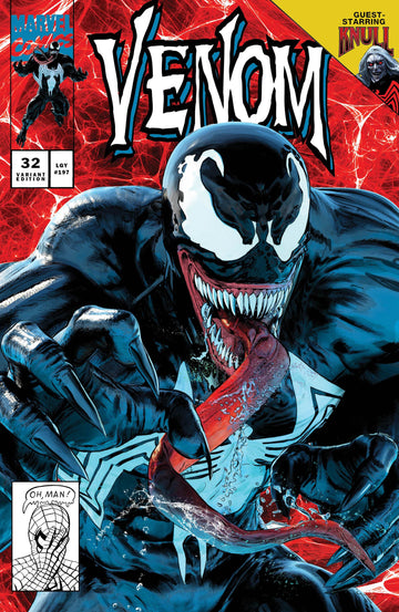 VENOM #32 Mike Mayhew Studio Variant Cover A Raw