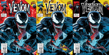 VENOM #32 Mike Mayhew Studio Variant Cover A, Cover B and Cover C Set Raw