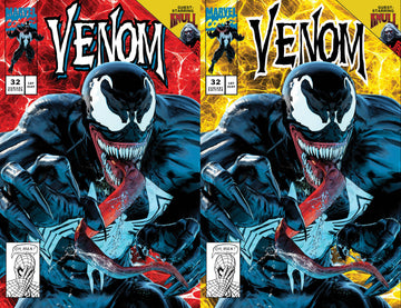 VENOM #32 Mike Mayhew Studio Variant Cover A and Cover B Set Raw