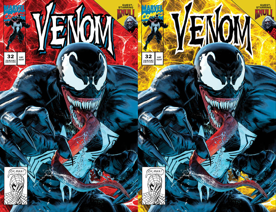 VENOM #33 and VENOM #32 Mike Mayhew Studio Variant Cover A and Cover B Set Bundle Raw