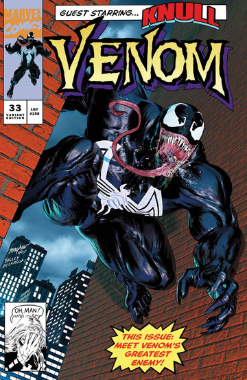 VENOM #33 Mike Mayhew Studio Variant Cover A Trade Dress Raw