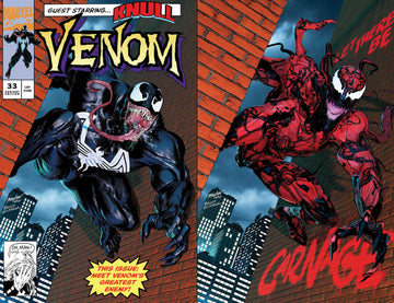VENOM #33, VENOM #32, and VENOM #31 Mike Mayhew Studio Variant Cover A and Cover B Bundle Raw