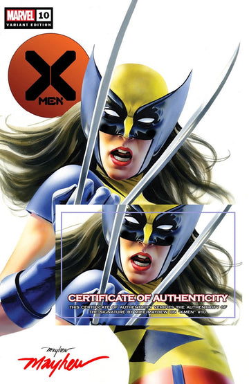 X-MEN #10 X-23 Variant Trade Dress Cover A Signed with COA