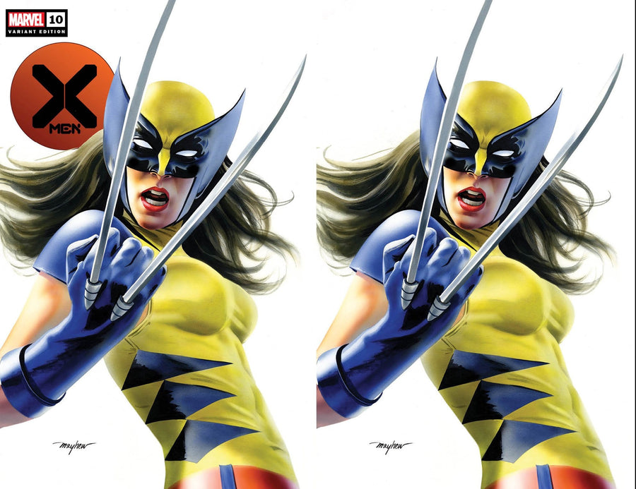 X-MEN #10 X-23 Variant Trade Dress Cover A Virgin Cover B Set Raw