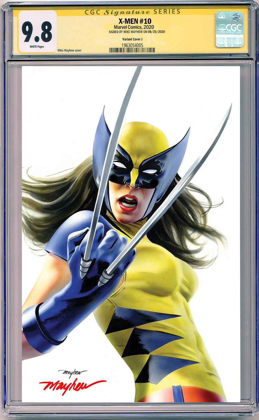 X-MEN #10 X-23 MIKE MAYHEW STUDIO EXCLUSIVE VARIANTS CGC SIG SERIES 9.6 AND ABOVE OPTIONS