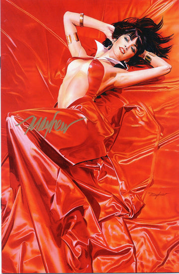 "VAMPIRELLA: ROSES FOR THE DEAD #1 Mike Mayhew Variant SIGNED Cover ""A"" LTD 500"