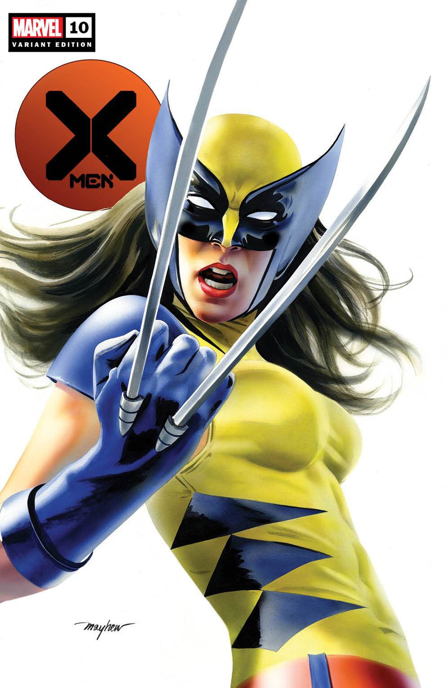 X-MEN #10 X-23 Variant Trade Dress Cover A Raw