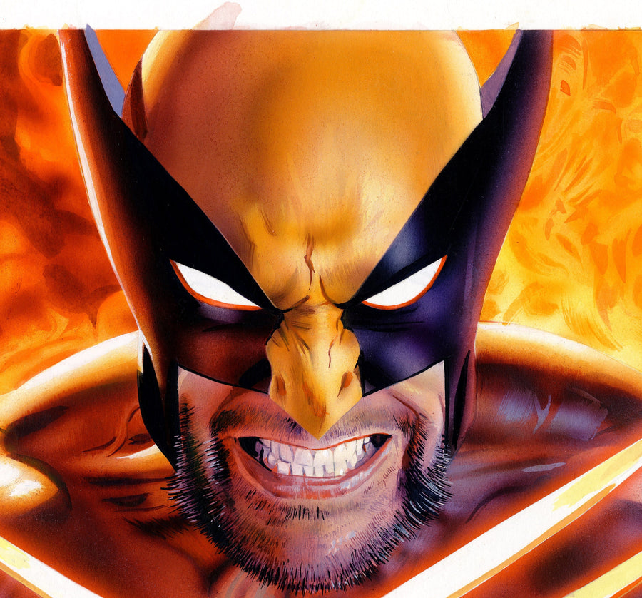 Mike Mayhew Original RETURN OF WOLVERINE #1 Variant Cover Painting