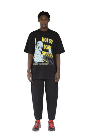 GARBAGEtv x LN-CC - SCARY SOUNDS - T-SHIRT - S/S - BLACK