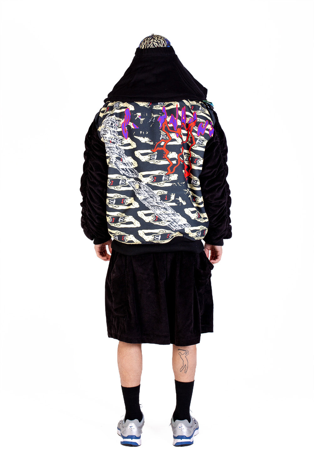 CONTROLLED LINES - BOMBER JACKET - BLACK