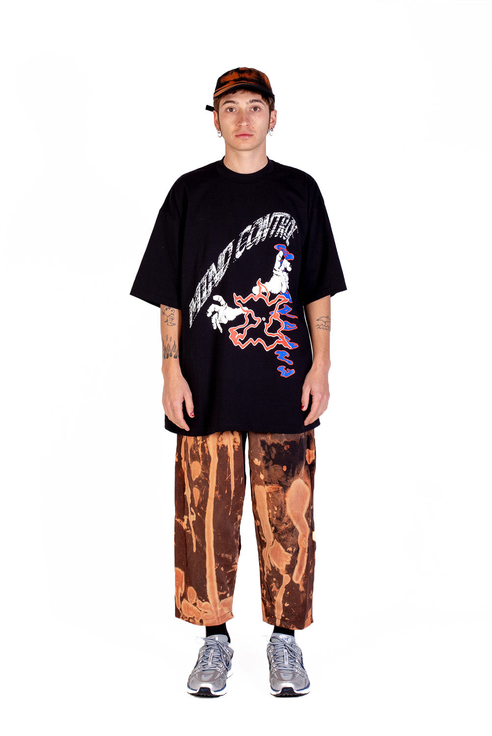 ABOMBA - TAPERED PANT - BLEACH