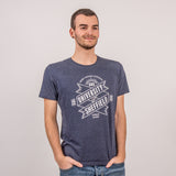 100% Recycled Fabric Salvage T-Shirt Navy