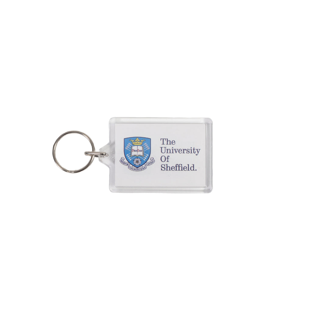 University Crested Key Ring