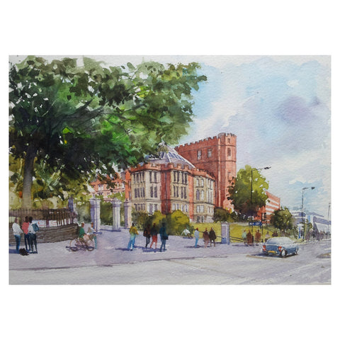 Firth Court Greetings Card