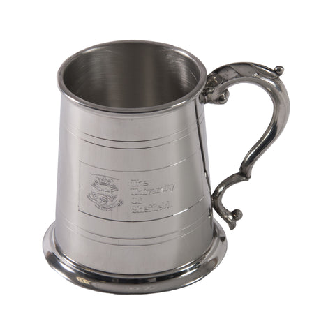 Crested Pewter Tankard