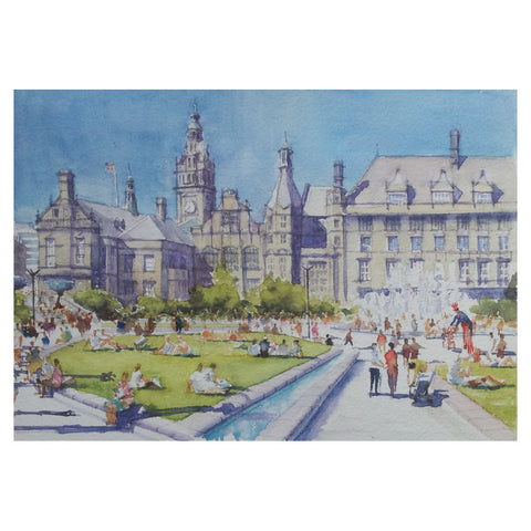 The Peace Gardens Greetings Card