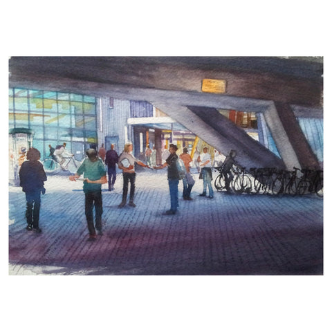 The Concourse Greetings Card